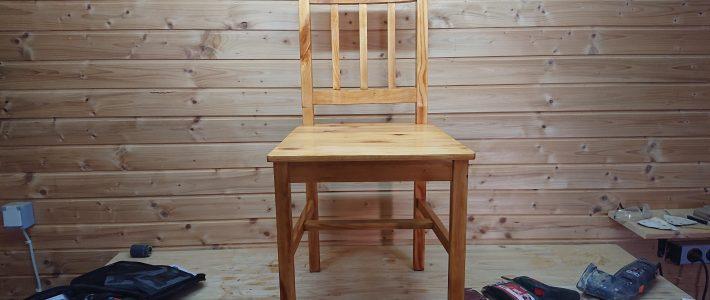 Alte Holzstühle restaurieren